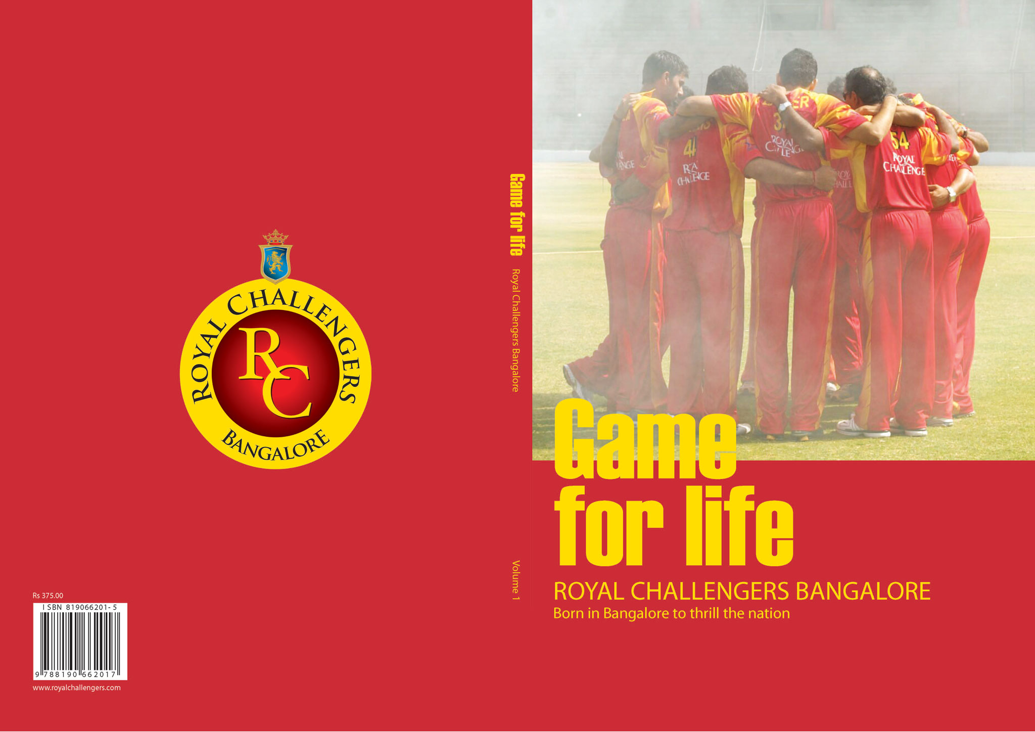 Game for Life - Royal Challengers Bangalore